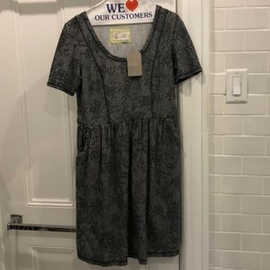 Saturday Sunday Anthropologie grey dress